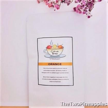 [Single Pack] Citrus Fruit Tea with Detox Properties 22g