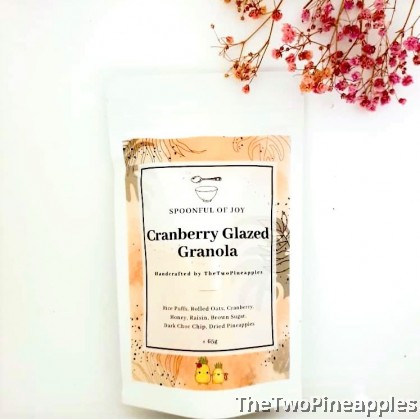 [Single Pack] Cranberry Glazed Granola
