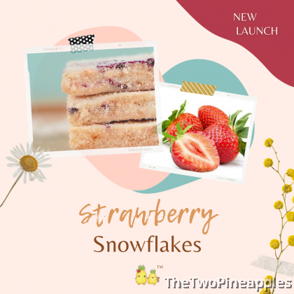 [Specialty Snowflakes] Handcrafted Snowflakes with Strawberry